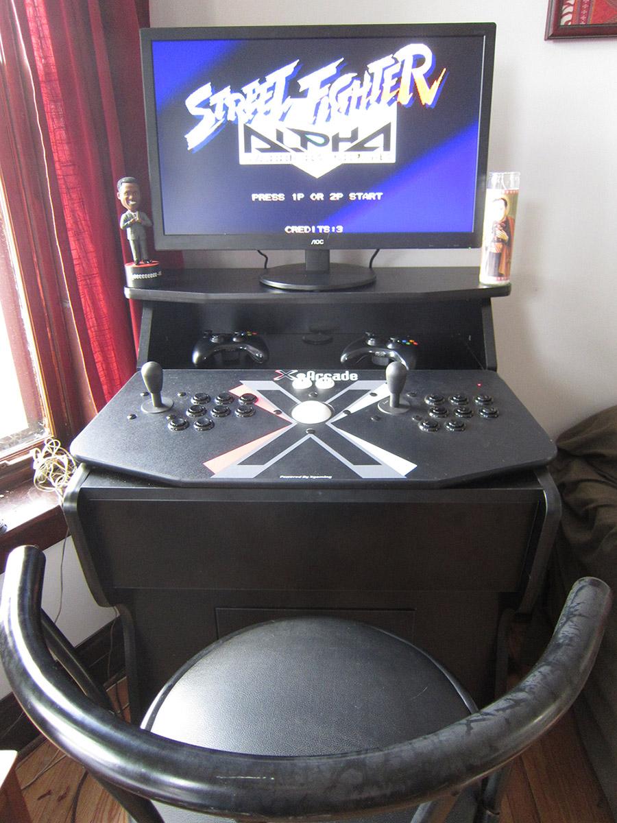 arcade home machine